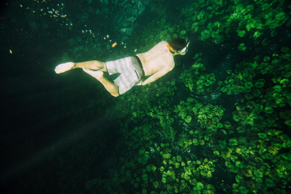 El fotógrafo Frabiccio Díaz tomó un viaje hacia el interior del río La Pasión y conoció un paraíso oculto y cristalino. (Foto: Frabiccio Díaz)