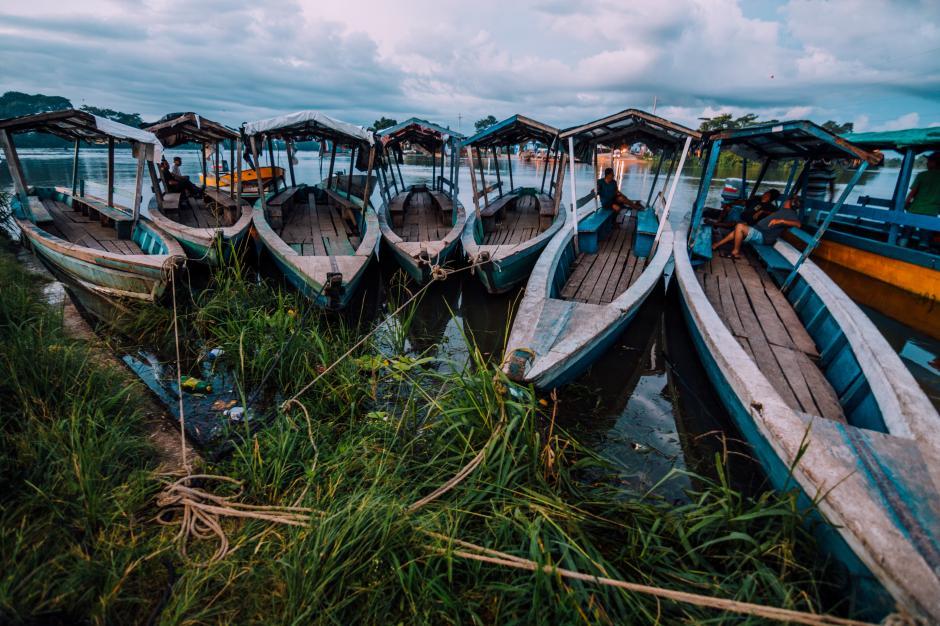 El medio de transporte para llegar al arroyo Teodoro es únicamente en lancha, pero para el arroyo Pucté, puede hacerse vía terrestre.(Fabriccio Díaz)