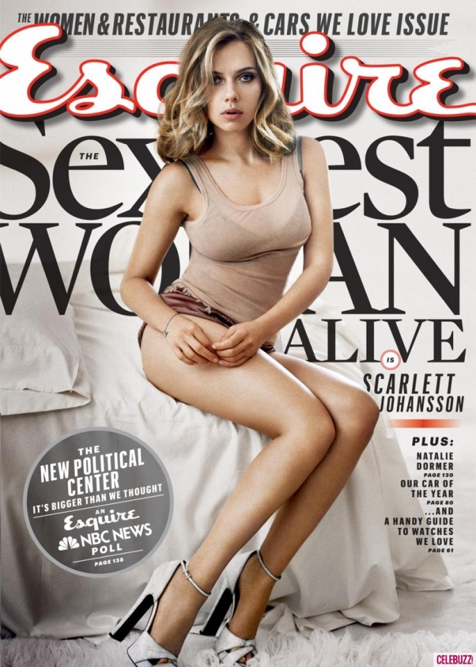 Esta es la portada de la revista estadounidense.