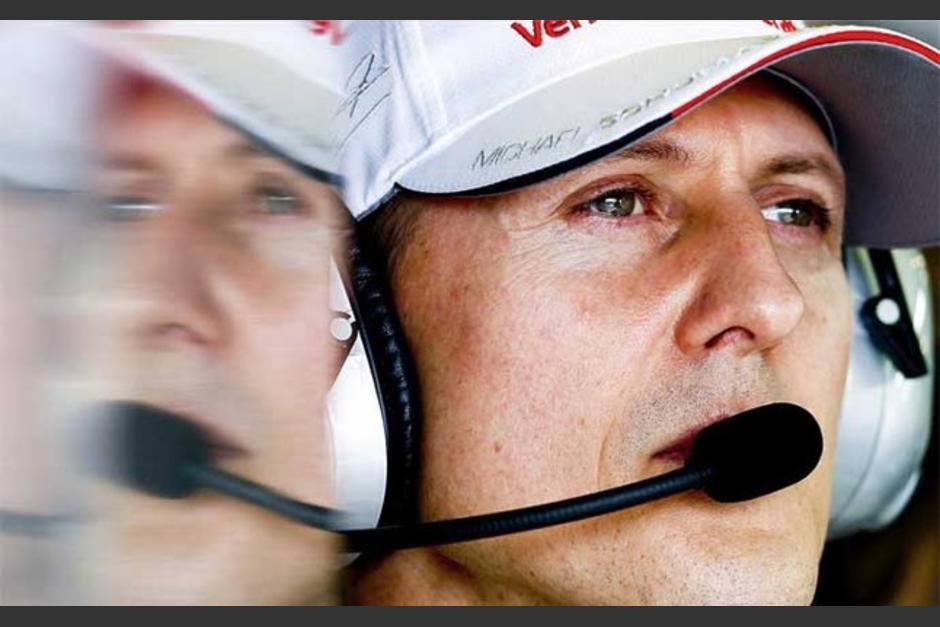 Foto Michael Schumacher vida pende de un hilo