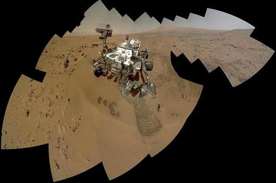 Las muestras de suelo tomadas por el Curiosity, analizan el suelo del planeta Marte. Mars Curiosity/Pinterest