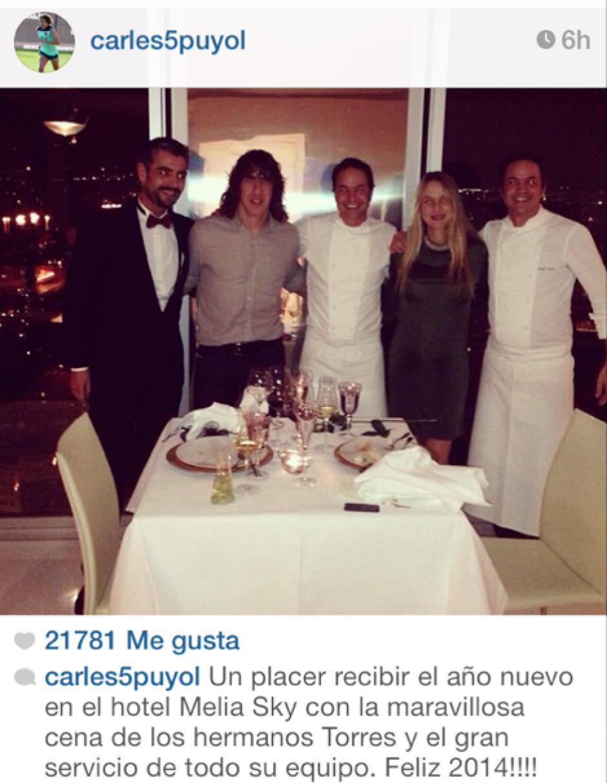 El jugador español, Carles Puyol.