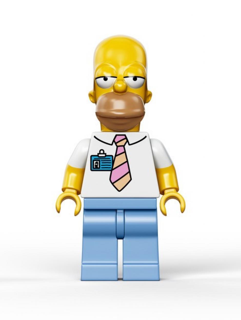 Esta es la imagen de Homero Simpson, uno de los personajes más famosos de la serie.