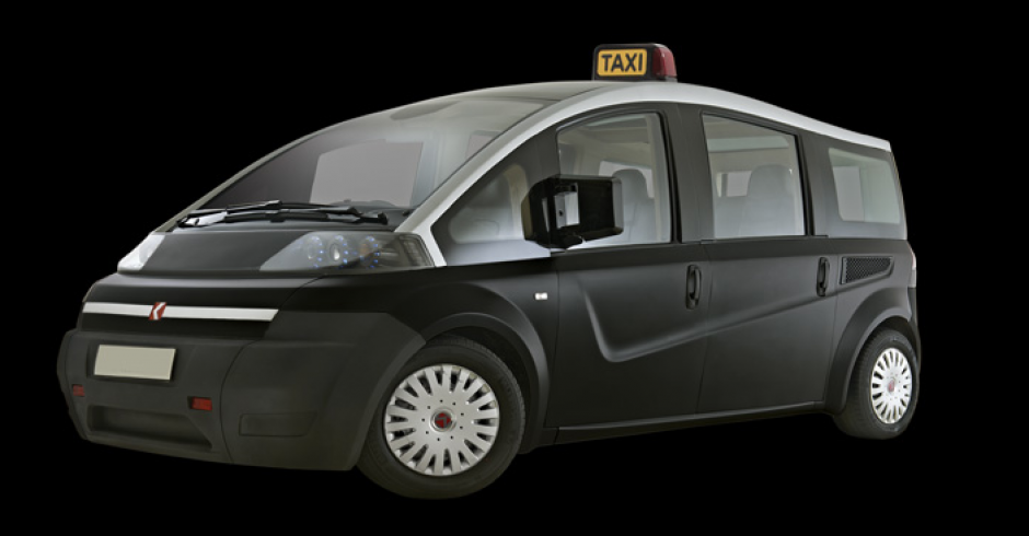 La compañía turca Karson también se une al reto de desarrollar un taxi para Londres menos contaminante. (Foto: Karsan)