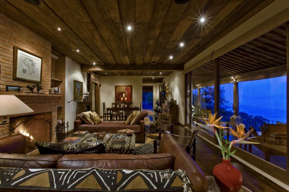 El hotel Casa Palopó tiene una hermosa vista del Lago de Atitlán.
