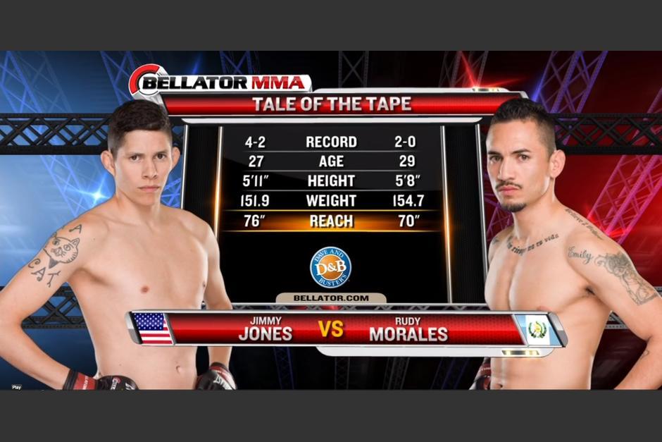 Rudy Morales, Bellator 115. Guatemala, mma