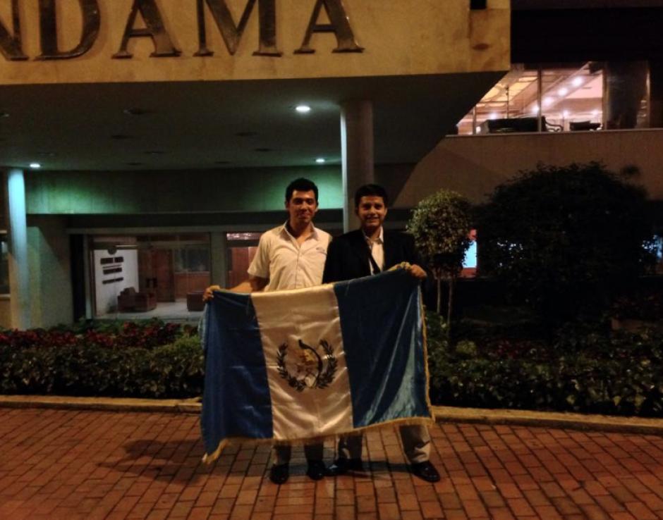 La ilusión de Jim y Edy era poner en alto el nombre de Guatemala. (Foto: Facebook)