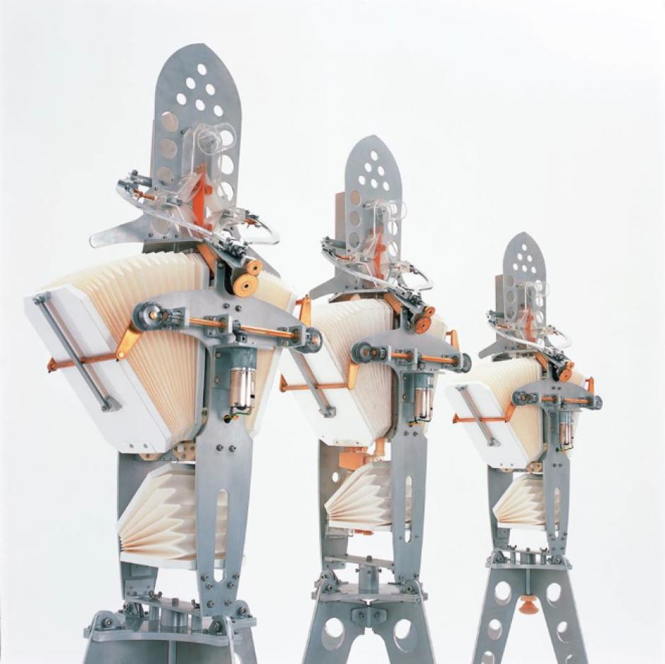 """""""Seamoons"""", de Maywa Denki. (Foto: Cité des Sciences et de l´Industrie)"""