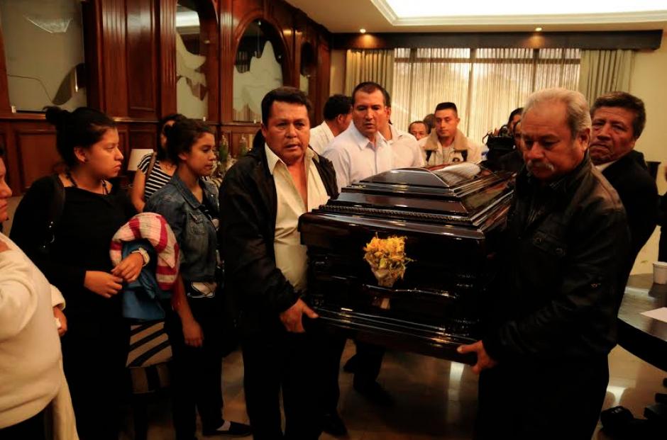Sus restos fueron llevados a Oratorio, Santa Rosa, donde el chef era originario. (Foto: Wilver Martínez/Nuestro Diario)