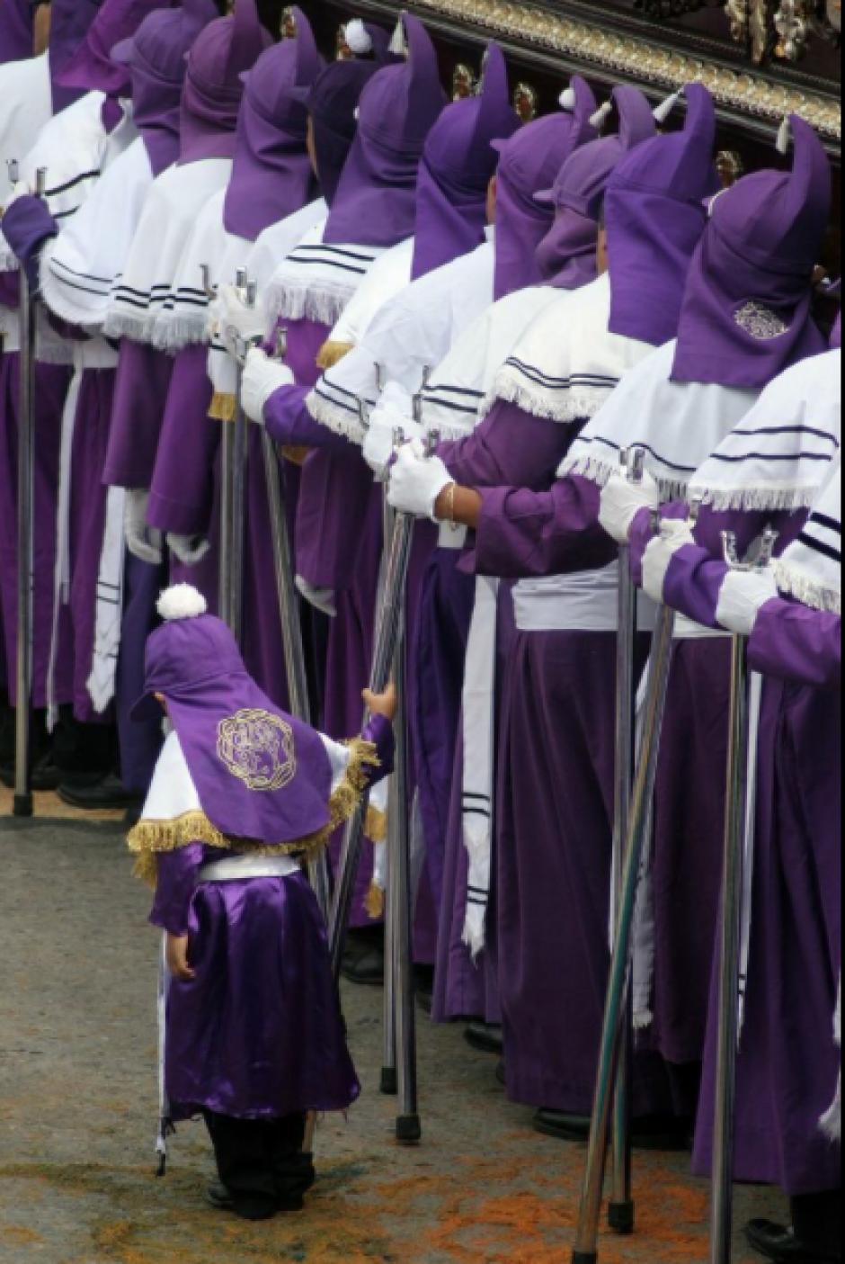 Este Jueves Santo los católicos conmemoran la institucion de la Eucaristía. (Foto: Raúl Illescas/ Soy502)