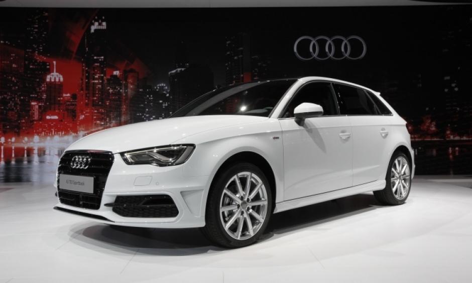 El Audi A3 TDI. Esta marca ha sido galardonada con el Premio al mejor Vehículo del año en los World Car Awards. (Foto:Autoshowny)