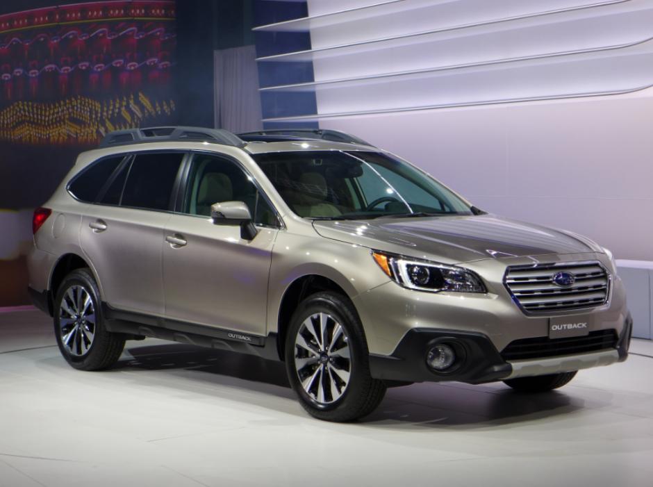 El nuevo Outback de Subaru. (Foto: Michael Harley)