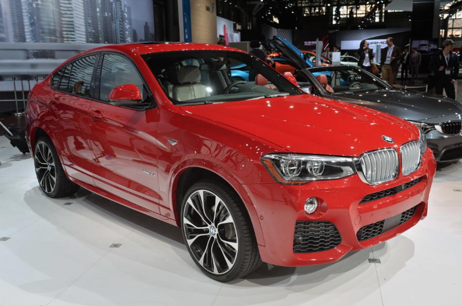 El BMW X4 en vivo, en el Salón de Nueva York.