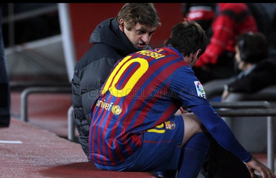 El entrenador siempre tuvo una relación estrecha con los jugadores del club. (Foto: Sitio Oficial Club Barcelona)