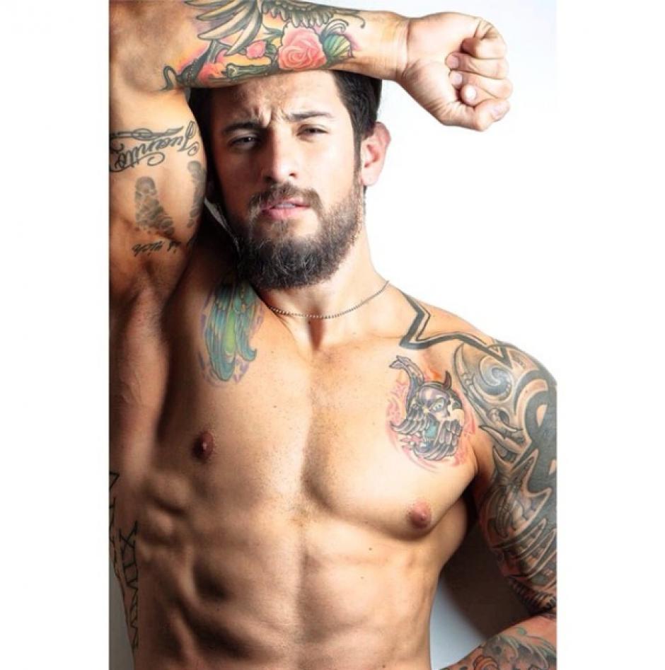 Hombres atractivos de los deportes