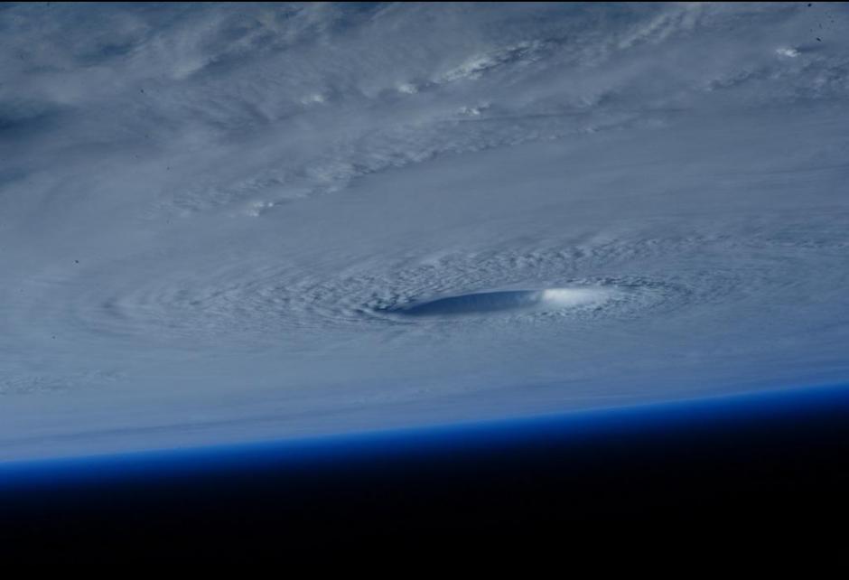 Esta foto fue captada desde el espacio por la astronauta Sam Cristoforetti. (Foto:Twitter)