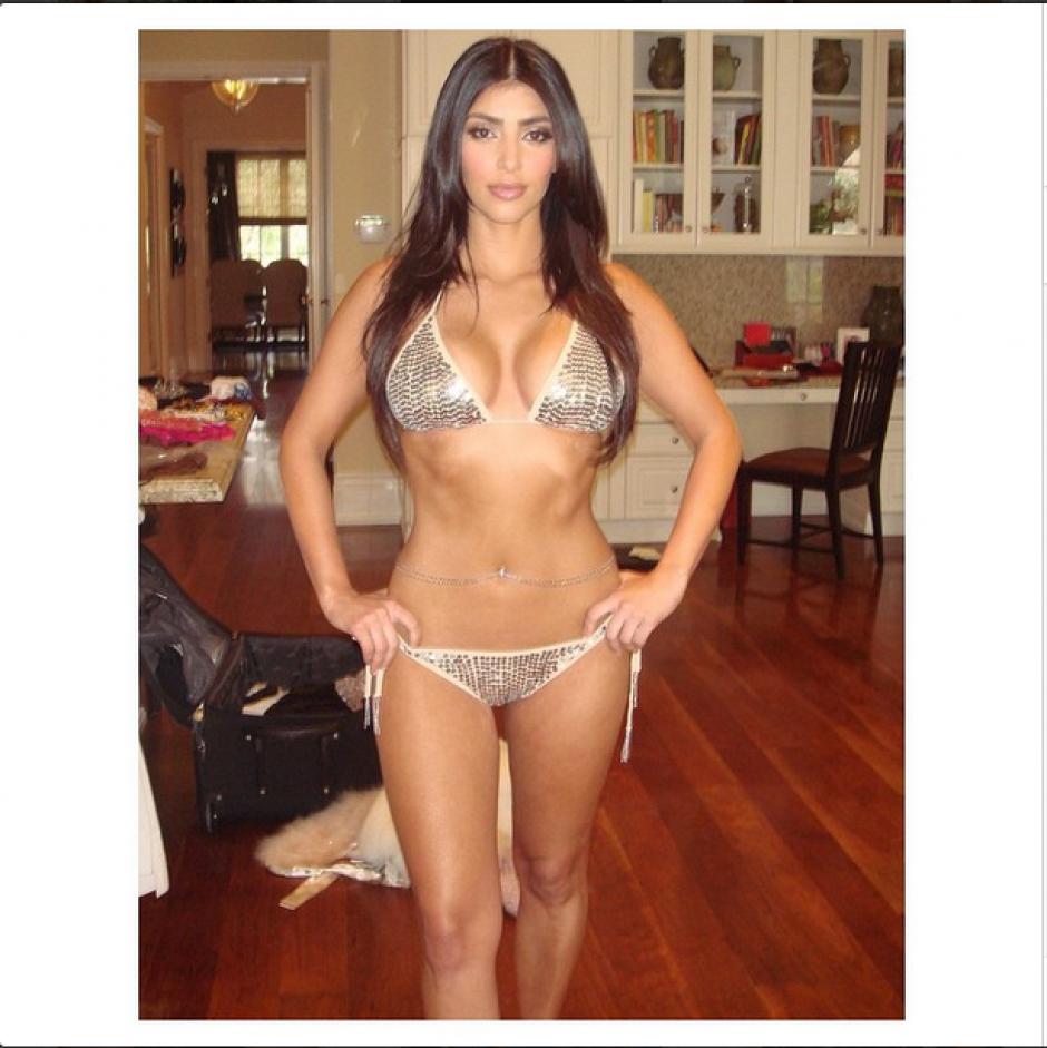 Las primeras 500 copias llevarán la dedicatoria y agradecimiento de Kim Kardashian por la compra.(Foto: Instagram Kim Kardashian)