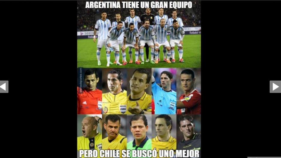 La ayuda que Chile recibió de los árbitros durante la Copa América no pasó inadvertida.