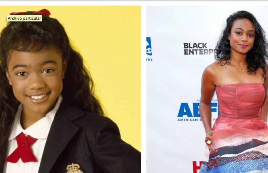 Tatyana Ali fue Ashley. Comenzó la serie cuando tenía 11 años, hoy tiene 36. Después de la serie se dedicó a actuar y cantar.