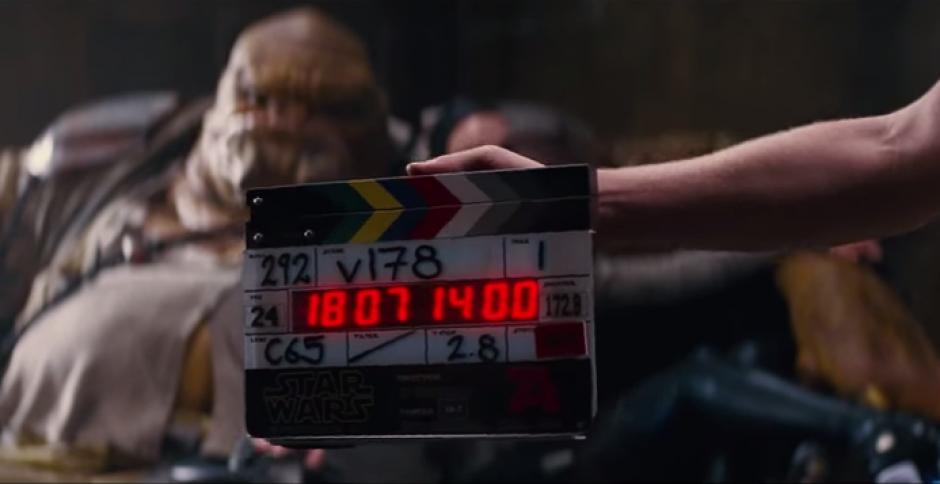 """El video detrás de cámaras de la película """"Star Wars: El Despertar de la Fuerza""""."""