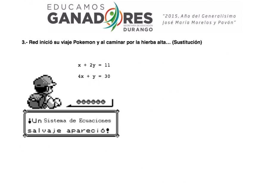 """El profesor mexicano usa personajes como """"Mario Bros"""" para motivar a sus alumnos. (imagen:Juan Antonio González Aguayo)"""