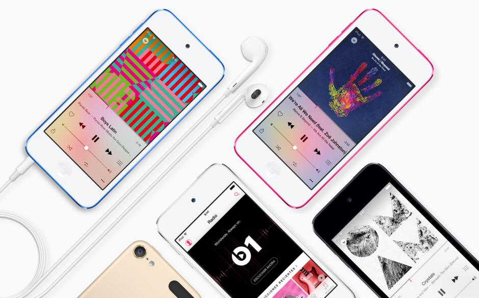 El iPod Touch viene con la actualización de iOS 8.4, que incluye el servicio de música Apple Music. (Imagen: Apple)