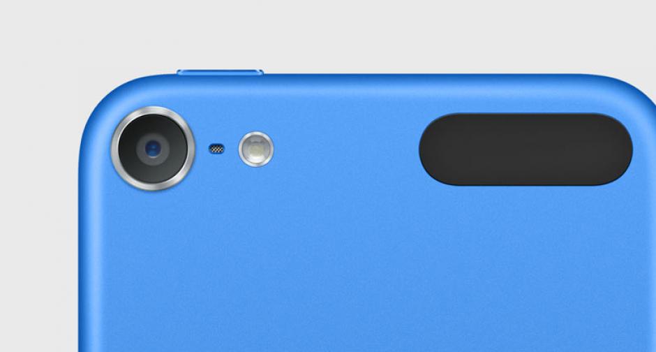 El iPod Touch trae una cámara de 8 megapíxeles.(Imagen: Apple)