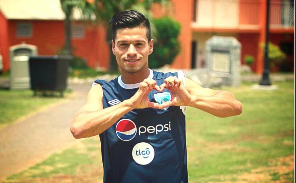 El jugador guatemalteco reside en Alemania, donde juega para un equipo local y hasta hace poco fue llamado a selección nacional.