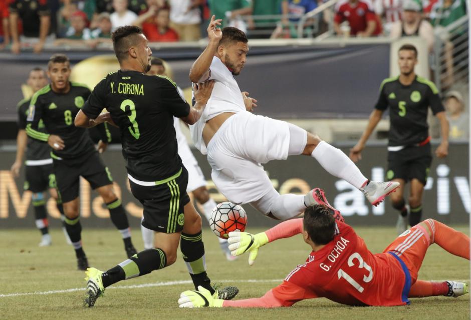 México venció 1-0 a Costa Rica copa oro 2015 foto