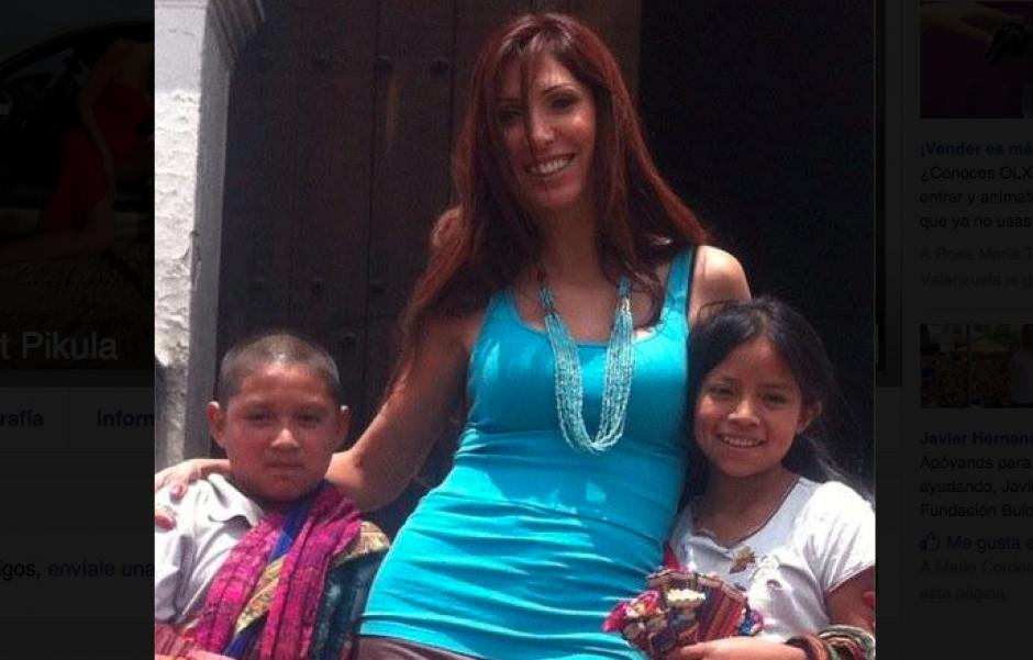 La supuesta traficante ha visitado Antigua Guatemala. (Fioto: Facebook/Anett Pikula)