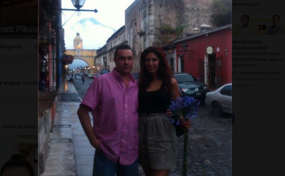 Anett Pikula tiene un fanatismo por la Ciudad de Antigua en Guatemala. (Foto: Facebook/Anett Pikula)