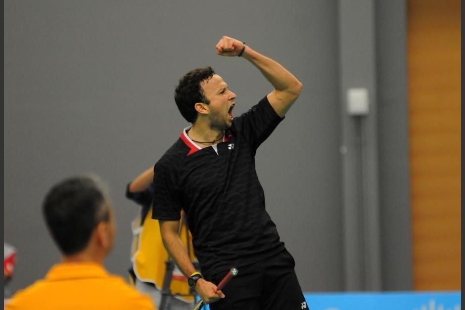 Kevin Cordón ganó una medalla de oro para Guatemala y se convirtió en doble campeón panamericano