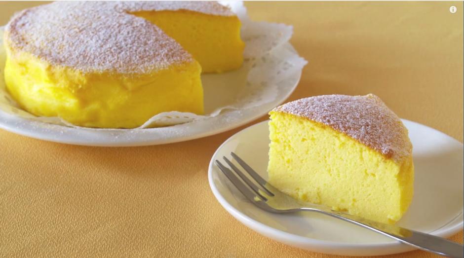Una receta de tres ingredientes para elaborar un pastel. (Imagen: YouTube)