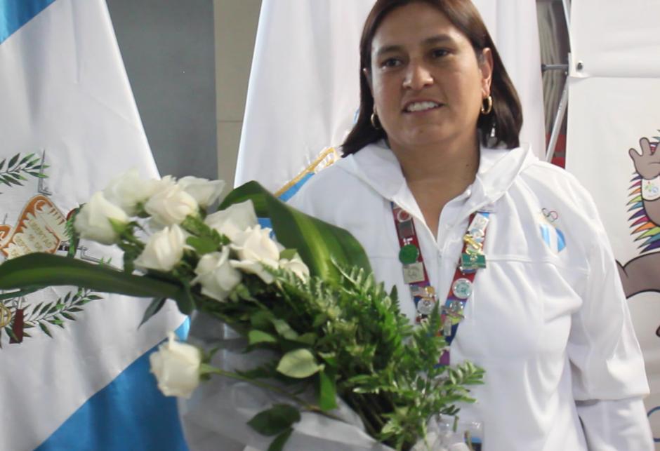 Yaeko Cifuentes fue la encargada de misión de la delegación guatemalteca que participó en las Olimpiadas Especiales. (Foto: José Dávila/Soy502)