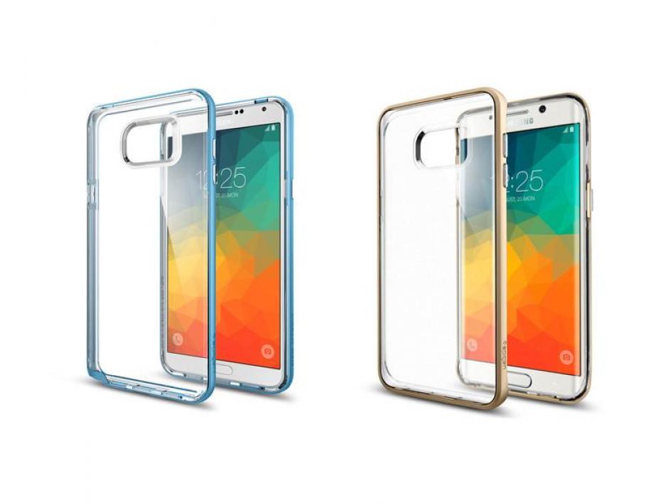 Se filtran nuevas fotografías del que podría ser el próximo Samsung Galaxy S6 Edge Plus. (Imagen:Spigen)