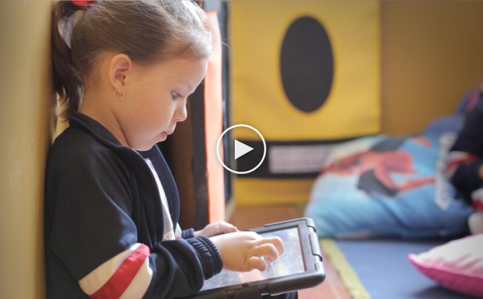 El Colegio SEK involucra la tecnología en el proceso educativo, con iPads en todas las clases. (Foto: George Rojas/Soy502)