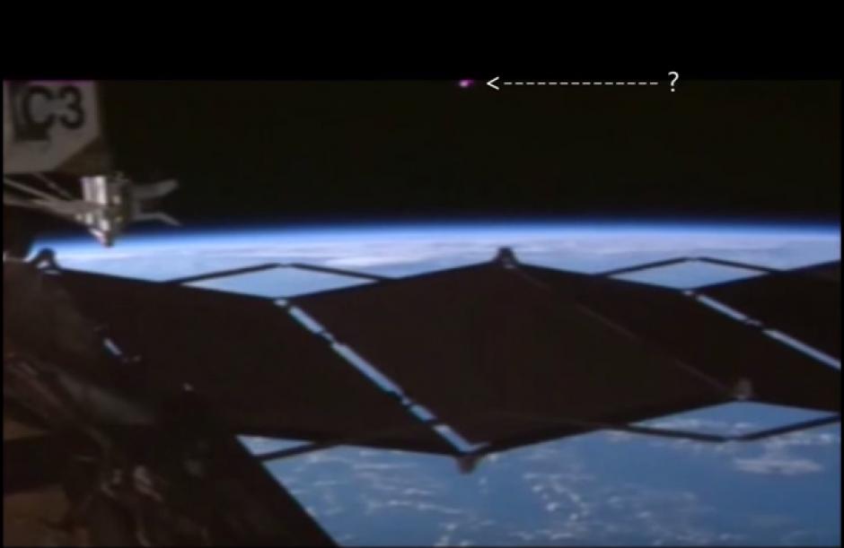 Ovnis en estación espacial internacional