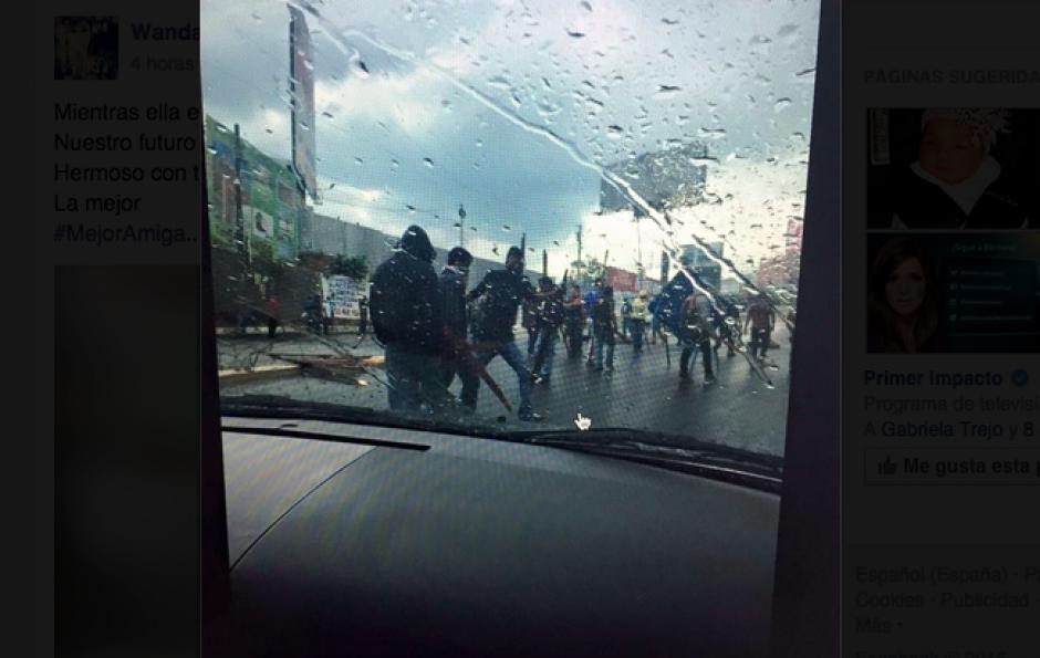 Los pilotos exigen más seguridad en el sector donde esta mañana asesinaron a dos compañeros de la ruta a Ciudad Peronia. (Foto: Twitter)