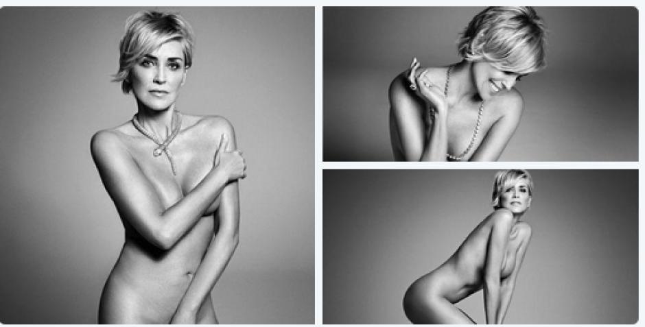 La actriz, Sharon Stone, demostró que sigue siendo bella y seductora. (Foto: Harper's Bazar)