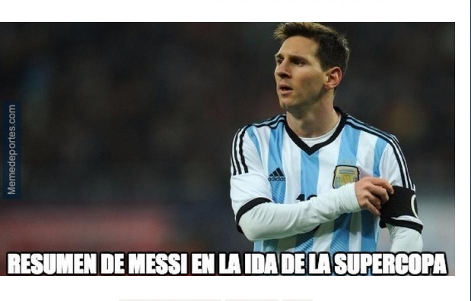 Messi brilló poco en el partido que tendrá su vuelta el próximo lunes. (Foto: MundoDeportes.com)