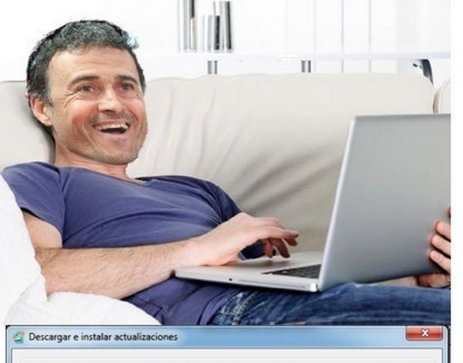 """Los """"memes"""" de Luis Enrique llegaron luego de que el Barcelona no consiguiera la Supercopa. (Foto: MemeDeportes.com)"""