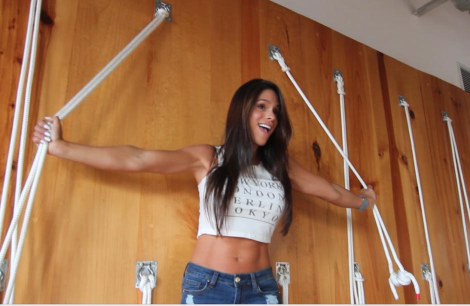 Michelle Lewin la diva del Fitness en Guate foto 03