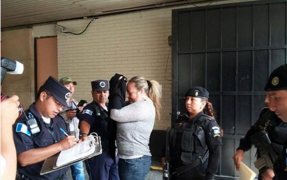 La hija de Gloria Torres, María Martha Castañeda Torres, fue remitida a la Torre de Tribunales por dos delitos, según la fiscalía. (Foto: Nuestro Diario)