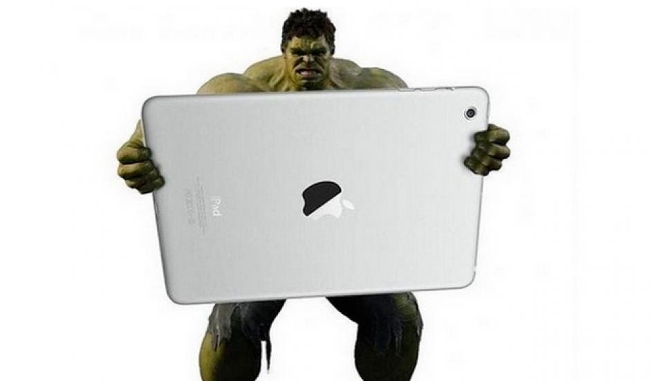 Las redes sociales se burlan del tamaño del iPad pro. (Imagen:Instagram/danworthingtondesign)