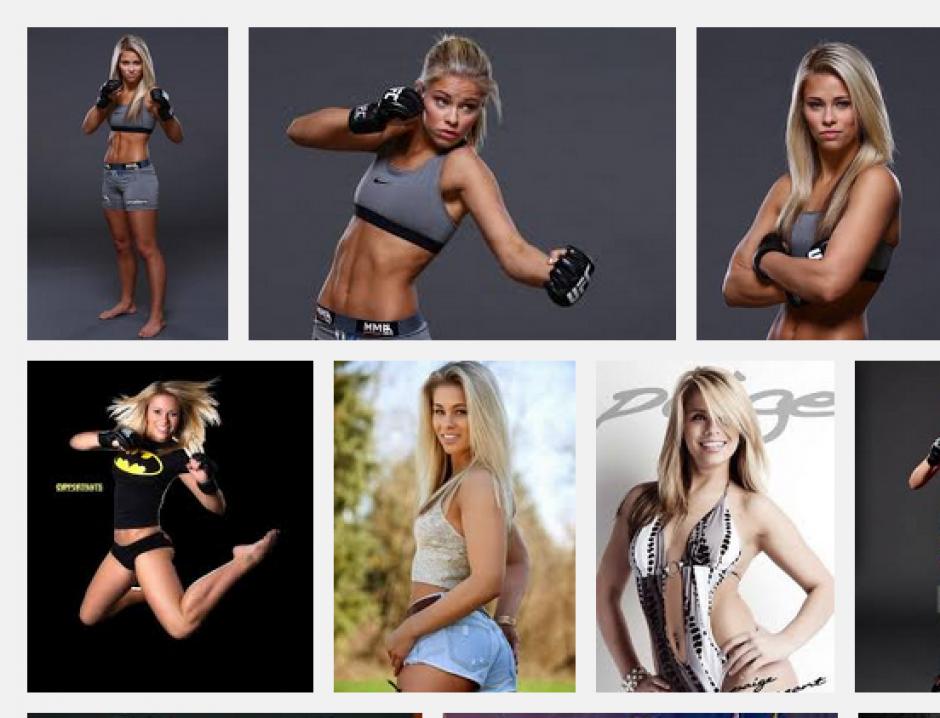 Paige VanZant es, sin duda, una de las consetidas en el mundo de la UFC.