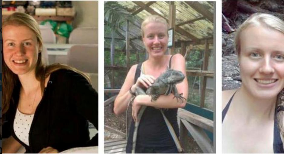 Kerstin Anke Loop se perdió en Zunil desde el 10 de septiembre pasado. (Foto: Conred)