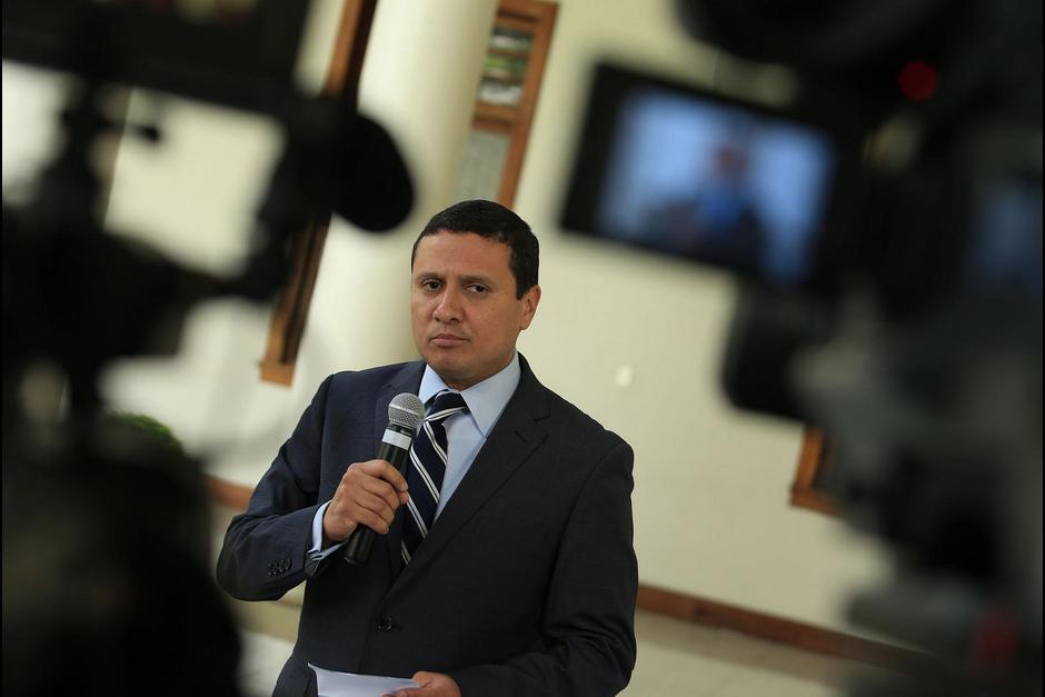 El canciller Morales llamó a la calma entre los connacionales. (Foto: Archivo/Soy502)