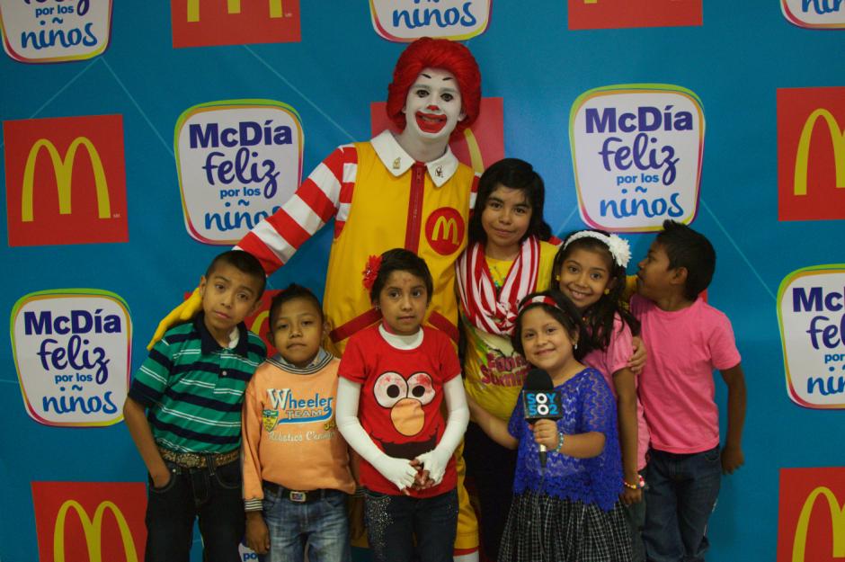 El McDía Feliz se realizó el 7 de octubre en todos los restaurantes McDonald´s de Guatemala.(Foto: Eddie Lara/Soy502)