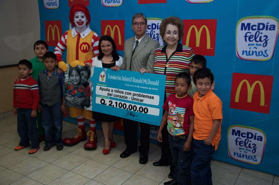El McDía Feliz espera recaudar fondos para ayudar a los niños de Guatemala con diferentes necesidades. (Foto: Eddie Lara/Soy502)