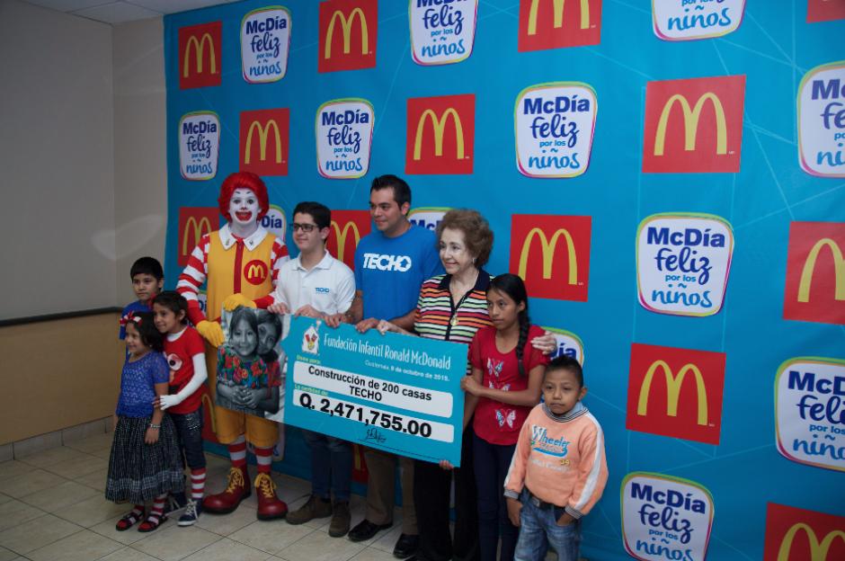 Los fondos del McDía feliz serán destinados a diferentes causas. (Foto: Eddie Lara/Soy502)